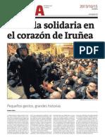 Reportaje de Gara sobre #HerriHarresia de Iruñea