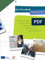 Boletin Eurodesk septiembre13