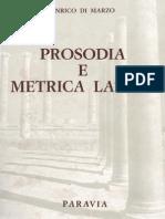 Di Marzo 1946 Prosodia e Metrica Latina