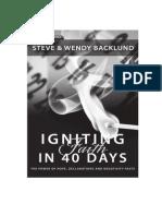Igniting Faith Book