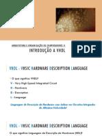 Aula 01 - Introducao a VHDL