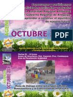 Agenda ARMA Octubre 2013