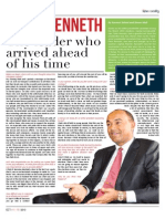 Peter Kenneth Interview with the  Asian Weekly