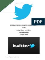 Twitter Social Media Report