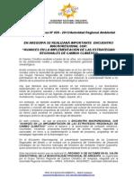 Boletin de Prensa 029 - 2013 - Encuentro Macroregional