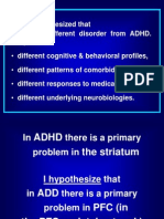 ADHD Dopamine and DAT