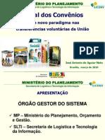 APRESENTAÇÃO SICONV - 2010