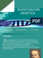 INVESTIGACIÓN GENETICA PRESENTACION