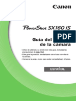 PowerShot SX160 is Camera User Guide ES