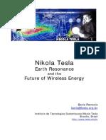 Nikola Tesla Institute - Earth Resonance and the Future of Wireless Energy