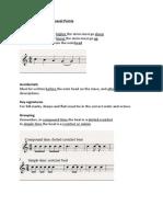 Grade 5 Theory Revision Notes