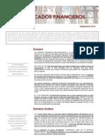 Informe de Mercados Septiembre 2013