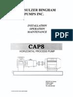 SulzerBingham Pump Horizontal Process CAP8