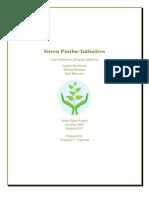 Green Purdue Initiatives