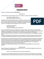 Kingdom Ways Lesson 6