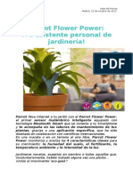 Press Release Parrot Flower Power (ES)