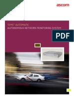 Tems Automatic 9.0 Brochure