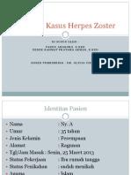 Laporan Kasus Herpes Zoster