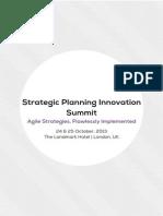StrategicPlanning Summit Oct 2013