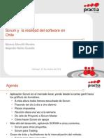 Scrum y  la realidad del software en Chile.ppt