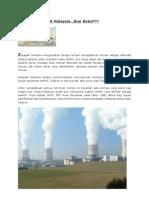 Tenaga Nuklear Di Malaysia