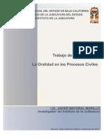 La Oralidad en Los Procesos Civiles (C-Inst) (1)