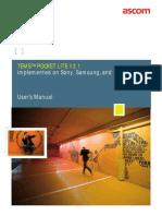 TEMS Pocket Lite User Manual
