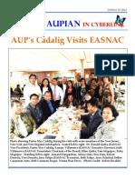 The AUPian Oct. 13, 2013