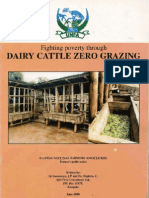 Dairy Cattle Zero Grazing