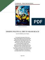 Dishing Dirt in Miami Beach Politics