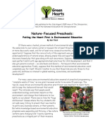 Nature-Focused Preschools