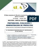 Preparacion y Evaluacion y Administracion de Proyectos