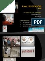 Pendahuluan Analisis Sensori d3_2013