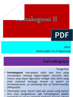 Farmakognosi II