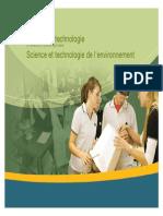Science et technologie de l´environnement