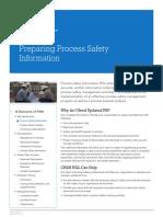 Preparing Process Safety Information