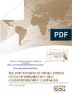The Effectiveness of Drone Strikes in Counterinsurgency and Counterterrorism Campaigns