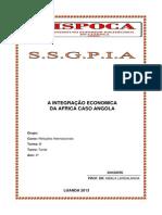 ISPOCA-Integração Economica da Africa-Angola
