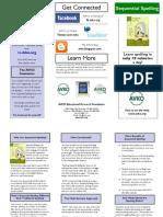 Sequential Spelling Brochure