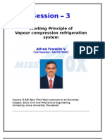 Vapour Compression Refrigeration system-Alfred Franklin