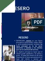 Clase 2 Ser Mesero