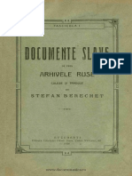 Documente Slave Berechet