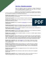 Acido Urico - Remedios Populares