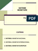 Tema 4 Sisteme Monetare