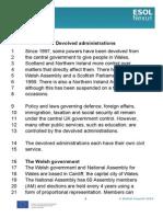 Devolved Administrations