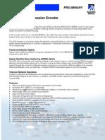 D9154 H.264 Encoder - Prelim Data Sheet -_7005029 PreA3.1
