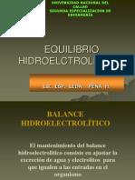 DESEQUILIBRIO HIDROELCTROLITICOS
