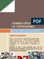 Crimen Organizado vs Terrorismo