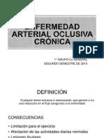 Enf. Arterial Oclusiva Cronica