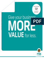 FNB Business Pricing